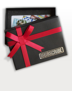 Magazine Gift Vouchers by Post
