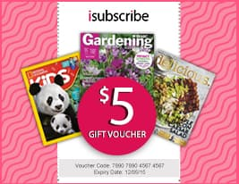 isubscribe $5 gift voucher
