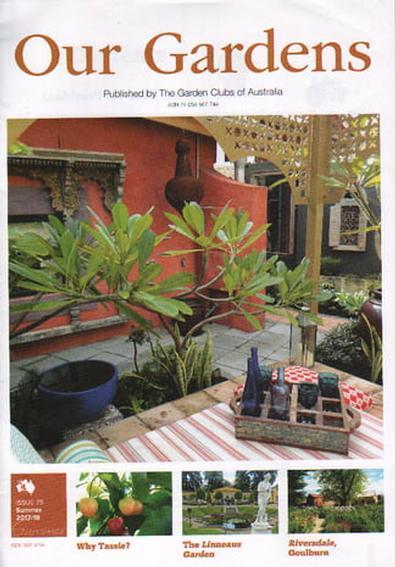 Our Gardens magazine cover