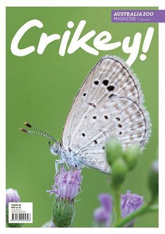 CRIKEY! Magazine cover