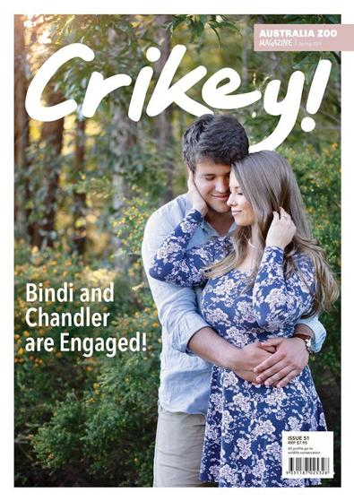 CRIKEY! Magazine cover