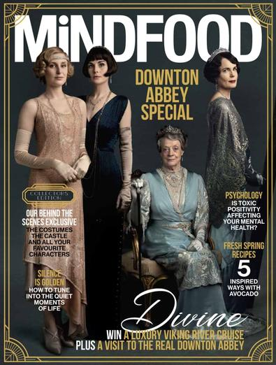 MiNDFOOD magazine cover