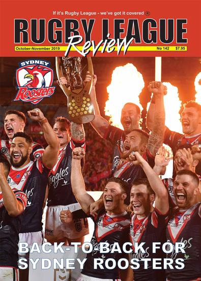 Rugby League Review magazine cover