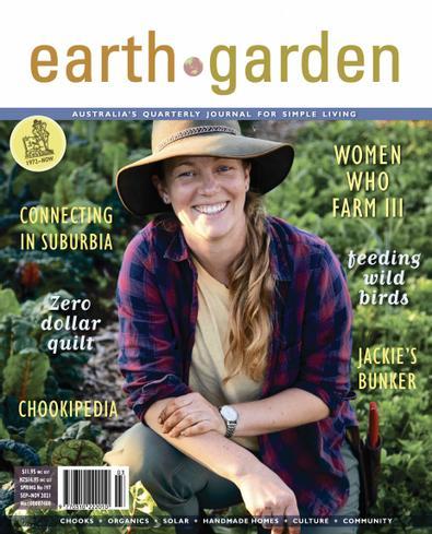 Earth Garden magazine cover