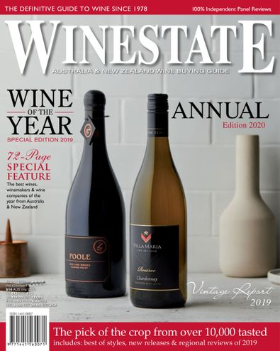 Winestate magazine cover