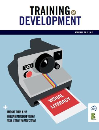 Training & Development magazine cover