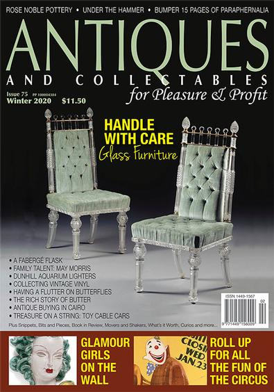 Antiques and Collectables for Pleasure & Profit magazine cover