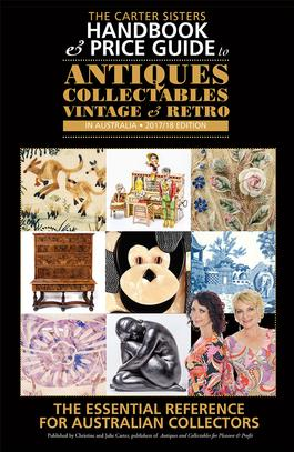 Carter Sisters Handbook & Price Guide to Antiques cover