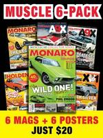 Free Poster with Holden Muscle Magazine