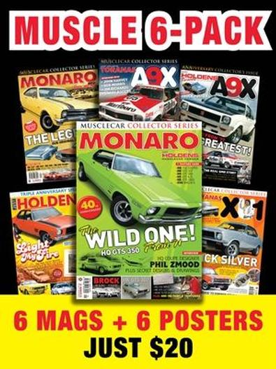 Holden Muscle Car magazine cover