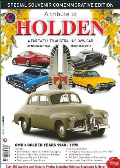 Goodbye Holden Souvenir Magazine cover