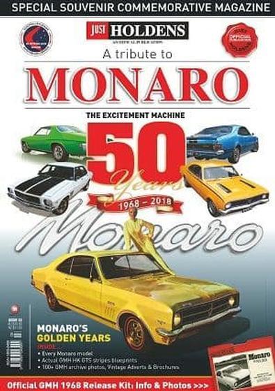 A TRIBUTE TO MONARO cover