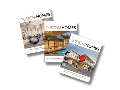 WA Custom Homes Bundle - Annual Yearbook x 3 magazine cover