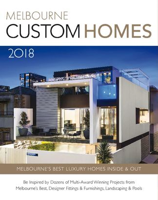 Melbourne Custom Homes Annual Yearbook 2018 magazine cover