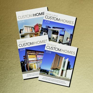 CUSTOM HOMES MAGAZINES BUNDLE cover