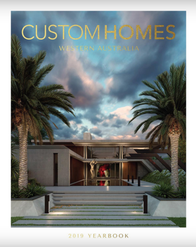 Custom Homes WA 2019 Yearbook magazine cover