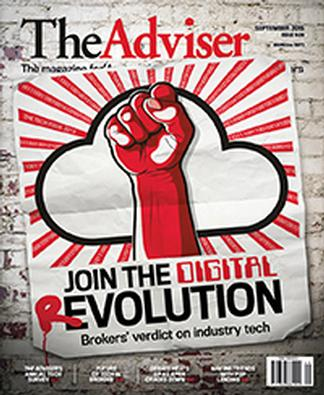 The Adviser magazine cover