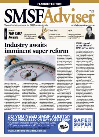 SMSF Adviser magazine cover
