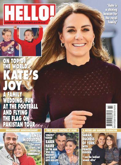 HELLO! (UK) magazine cover