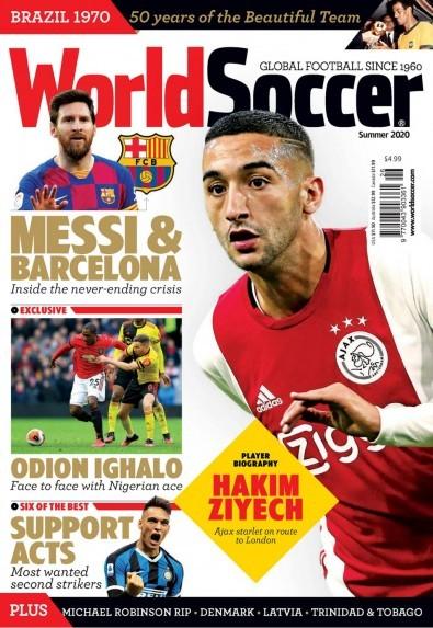 World Soccer (UK) magazine cover