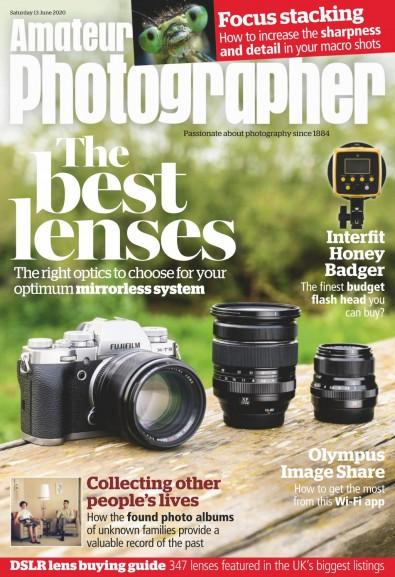 Amateur Photographer (UK) magazine cover