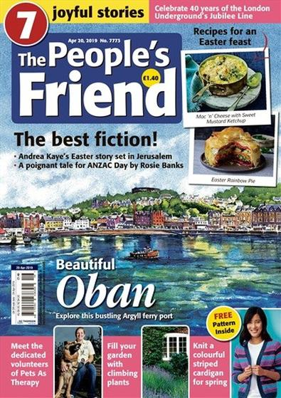 The People's Friend (UK) magazine cover