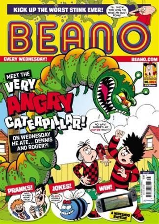 Beano (UK) magazine cover