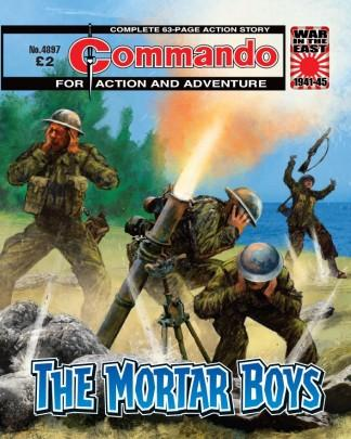 Commando (UK) magazine cover