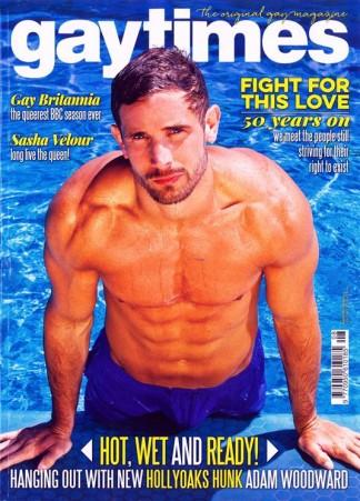 Gay Times (UK) magazine cover