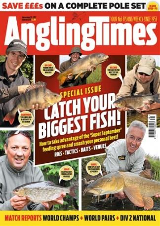 Angling Times (UK) magazine cover