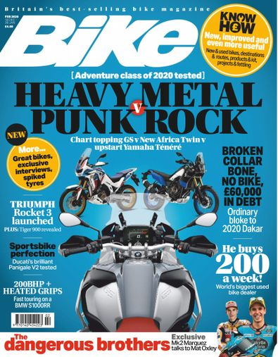 Bike (UK) magazine cover