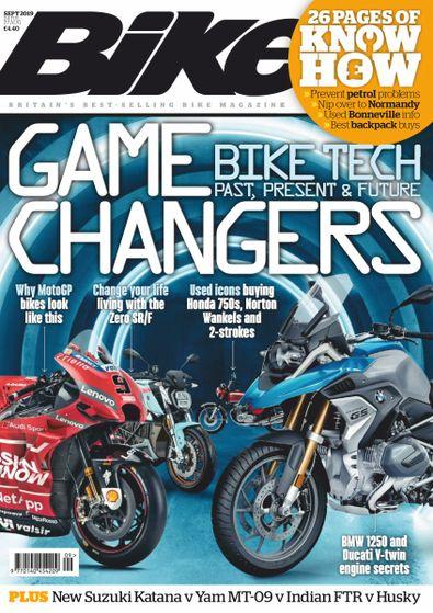 Bike (UK) magazine cover