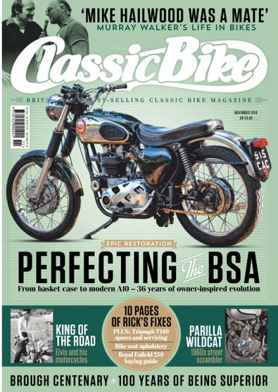Classic Bike (UK) magazine cover