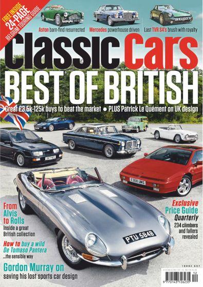 Classic Cars (UK) magazine cover