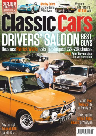 Classic Cars (UK) magazine cover