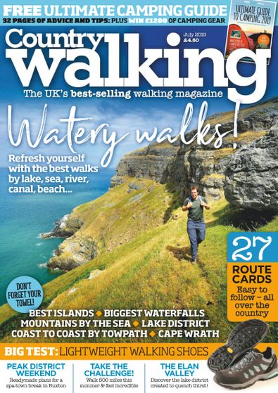 Country Walking (UK) magazine cover