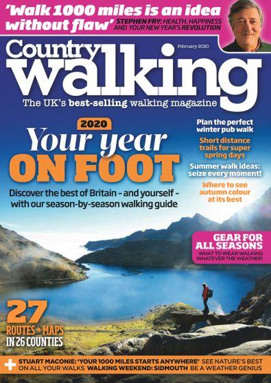 Country Walking (UK) magazine cover