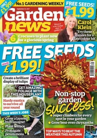 Garden News (UK) magazine cover