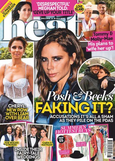 Heat (UK) magazine cover