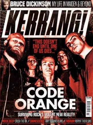 Kerrang! (UK) magazine cover