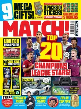 Match (UK) magazine cover
