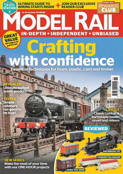 Model Rail (UK) magazine cover
