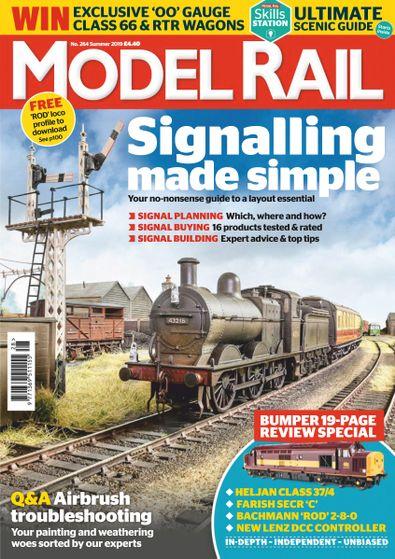 Model Rail (UK) magazine cover