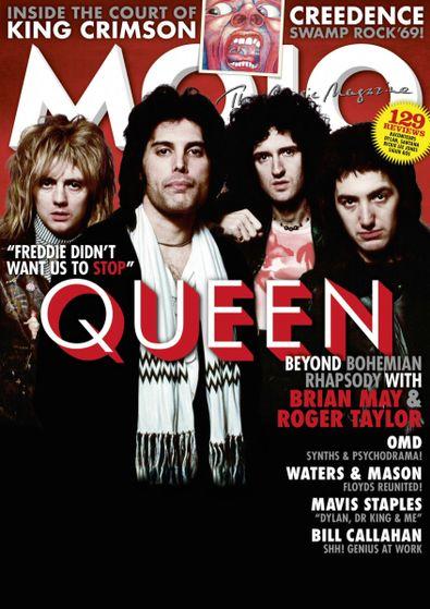 Mojo (UK) magazine cover
