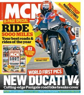Motorcycle News (UK) magazine cover
