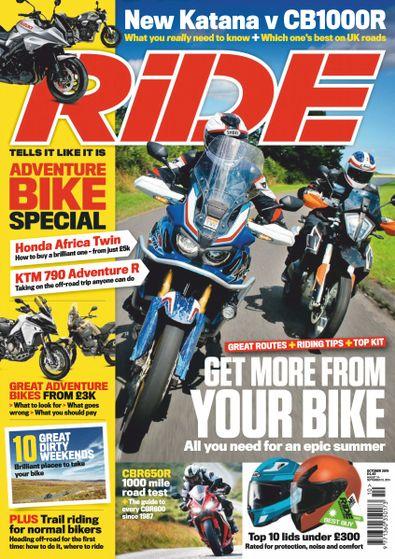 Ride (UK) magazine cover