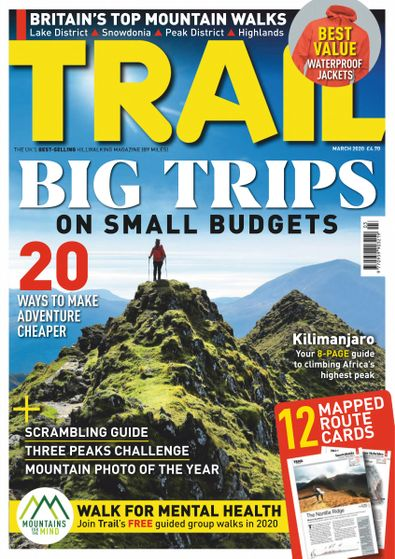 Trail (UK) magazine cover