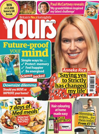 Yours (UK) magazine cover