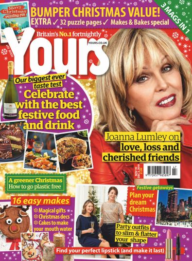 Yours (UK) magazine cover