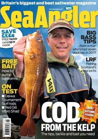 Sea Angler (UK) magazine cover